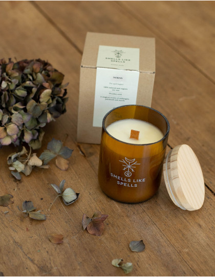 """NORNS scented candle by """"Smells like Spells"""""""