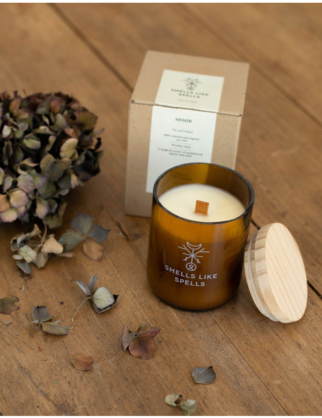 """MIMIR scented candle by """"Smells like Spells"""""""