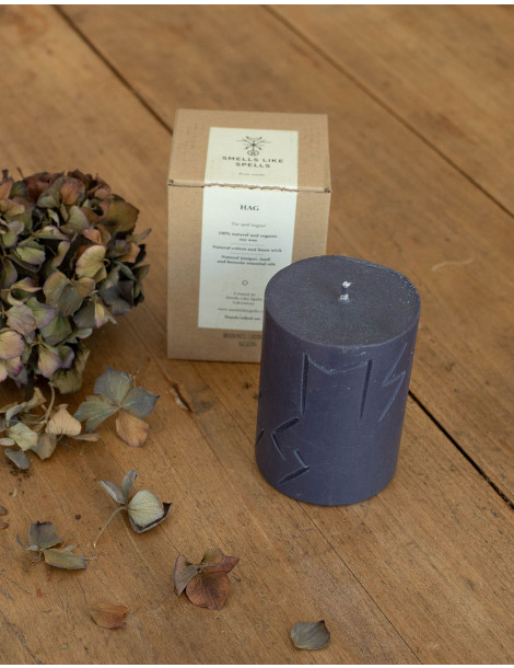 """HAG rune candle by """"Smells like Spells"""""""