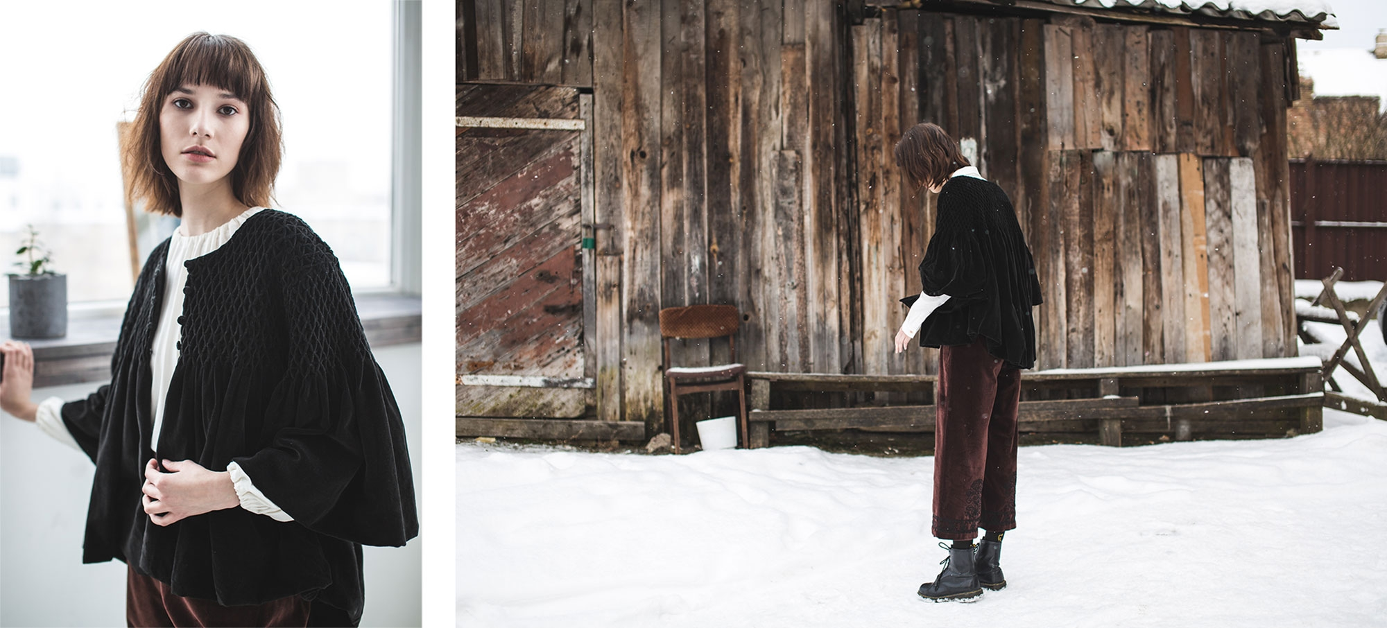 Voriagh-FW-2018-Folk-velvet-jacket-bohemian-folklore-happy-snow-knit
