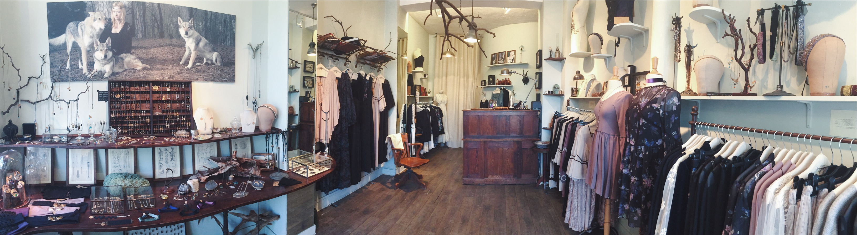 boutique paris steampunk bohemian